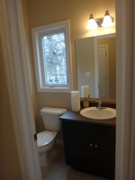 Leander Place Model Home: Main Floor Bathroom Pic 3
