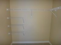 Leander Place Model Home: Master Bedroom Walk- In Closet Pic 2